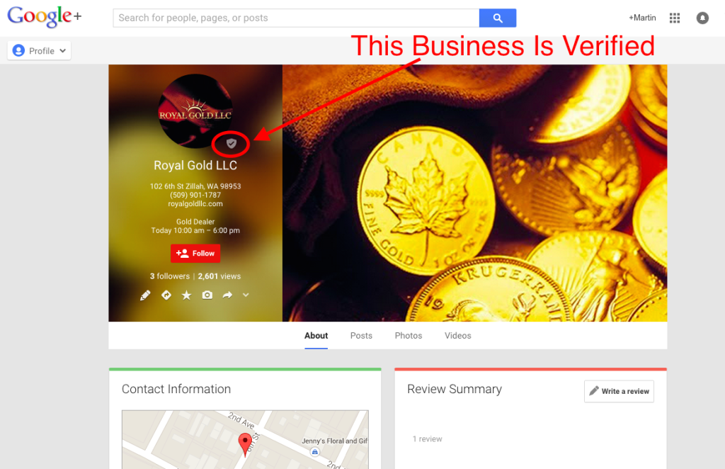 more leads with local seo google+ verified business