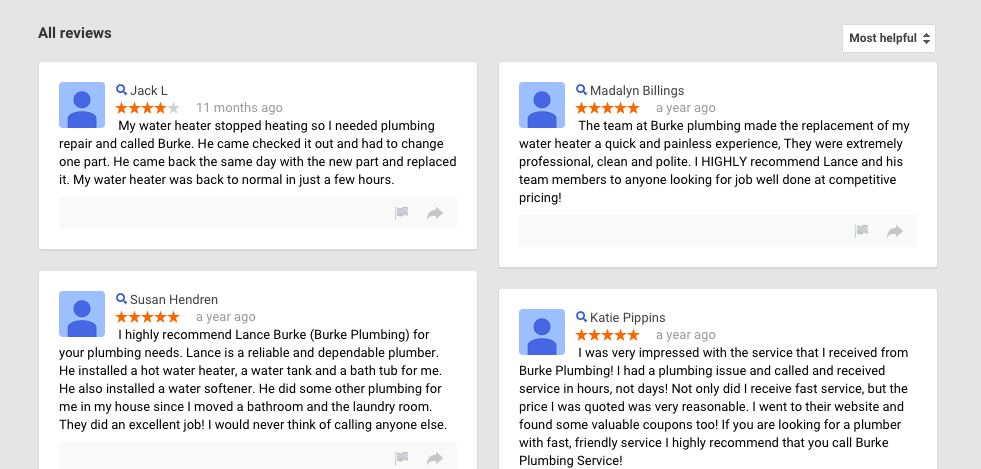 local seo from online reviews will help get more leads