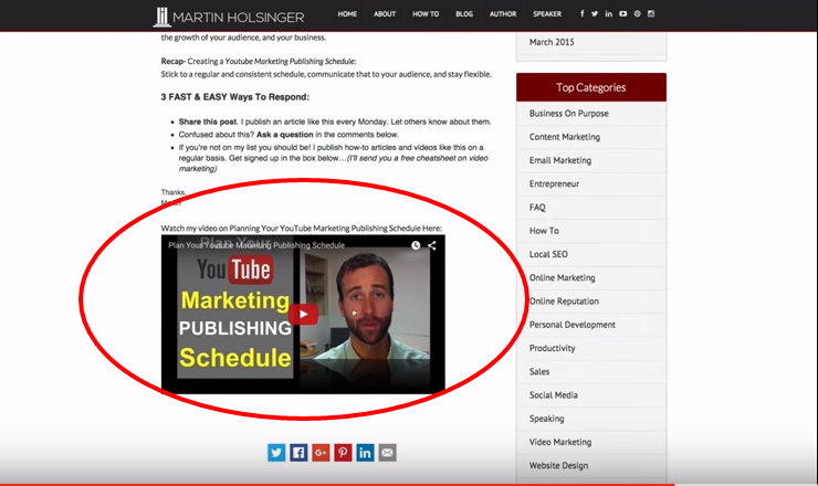 How To Embed Video In WordPress Website YouTube Marketing YouTube