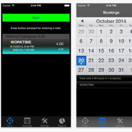 Time Recorder App